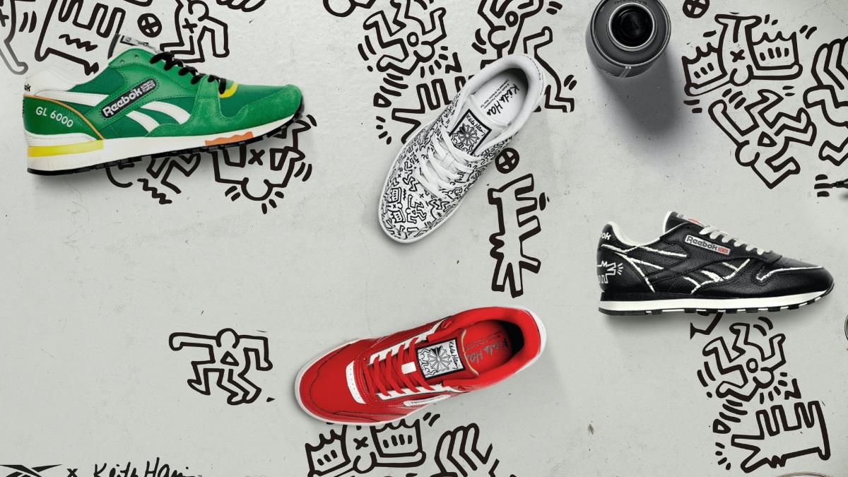 Newsfeed 🔔 Reebok und Keith Haring bringen Kunst und Sneaker zusammen