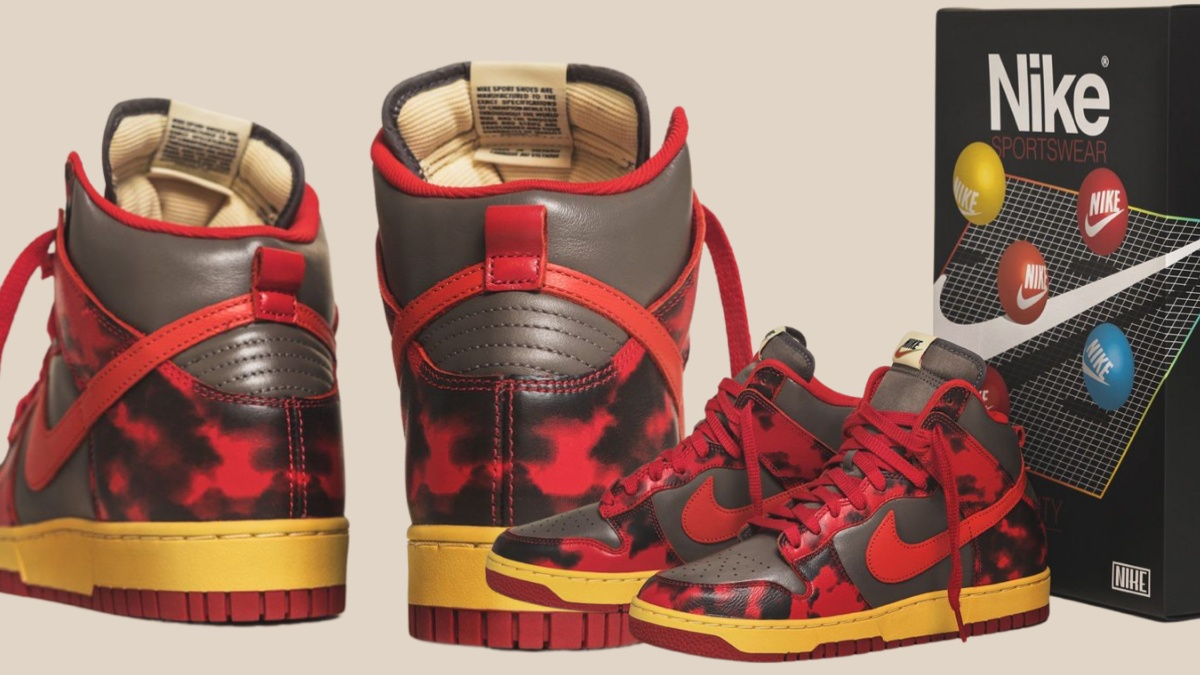 Nike Dunk High 85 SP Acid Wash drops in 2 Colorways