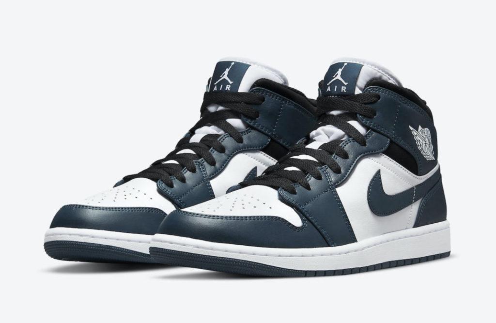 Air Jordan 1 Mid 'Dark Teal'