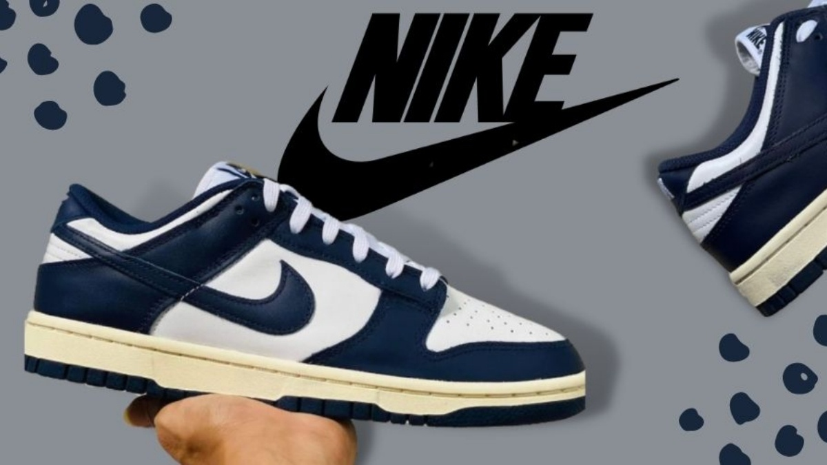 Nike comes out with Dunk Low 'Vintage Navy' colorway