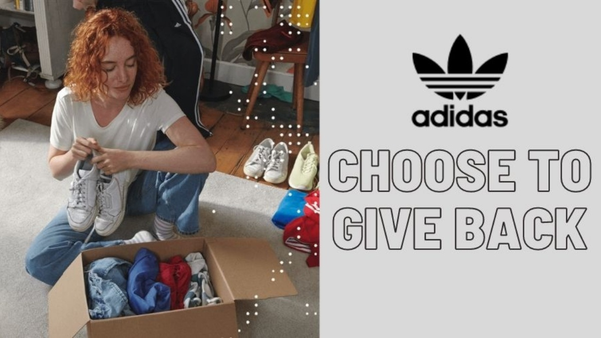 adidas 'Choose to Give Back' helps sell clothes and shoes
