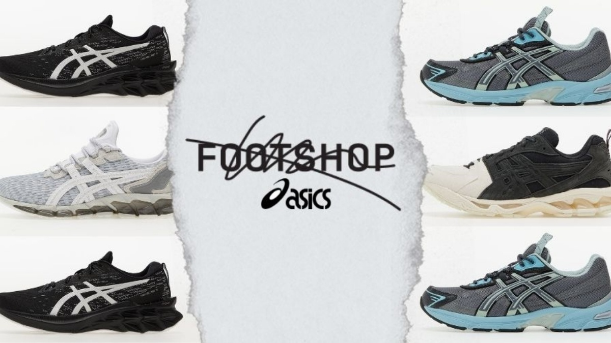Our top 10 Asics sneakers at Footshop