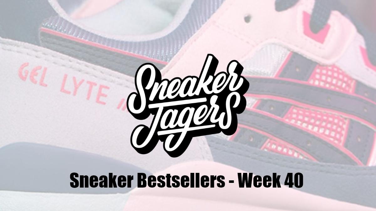 Our Sneaker Bestsellers - Week 40 - What's on Trend 📈