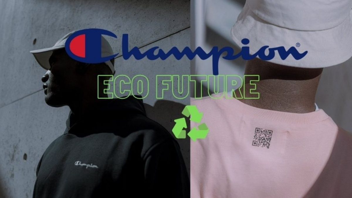Champion Eco Future collection is sustainable and gender-neutral