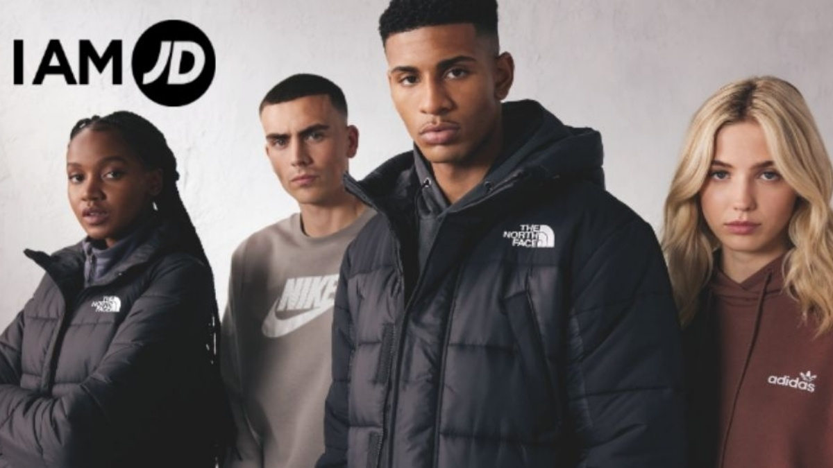 The #IAMJD collection from JD Sports is online