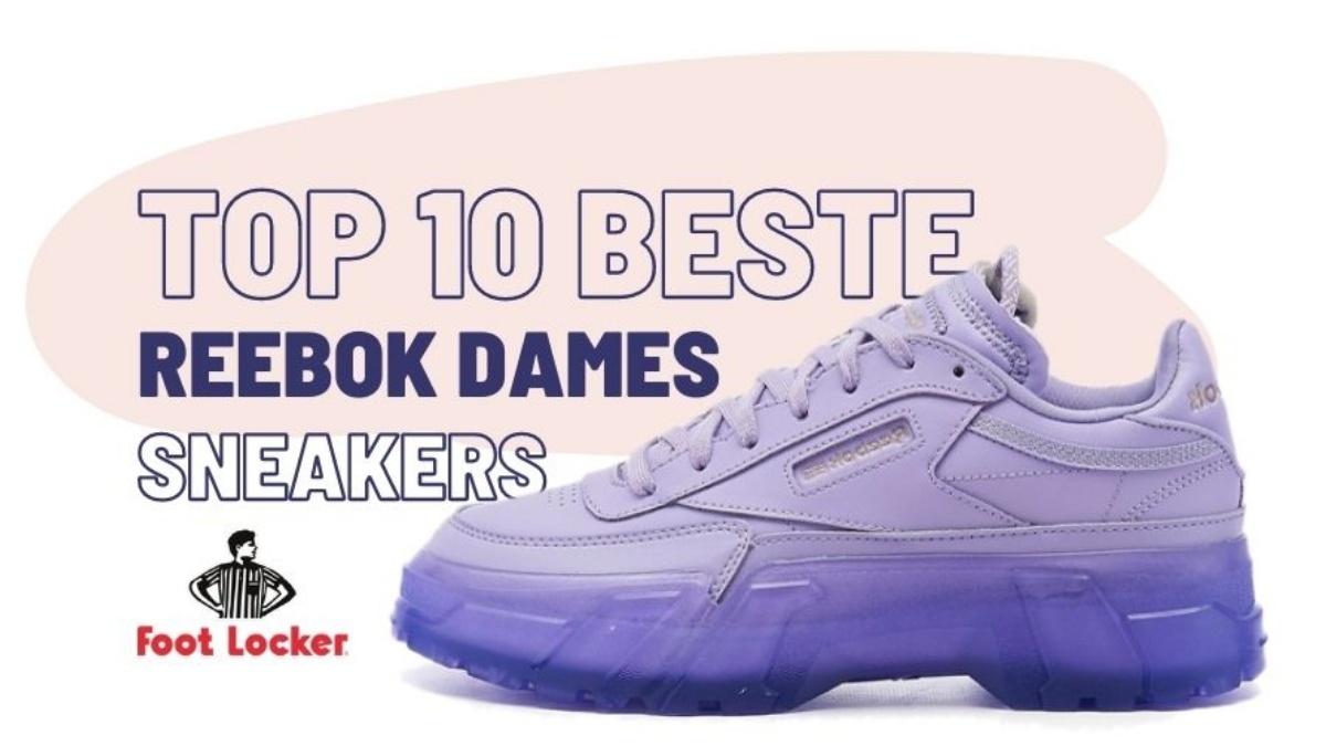 Our top 10 Reebok women's sneakers at Footlocker
