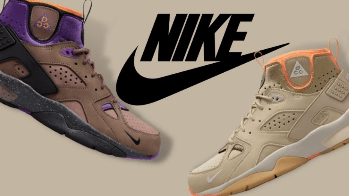 Nike ACG Air Mowabb comes with two new colorways