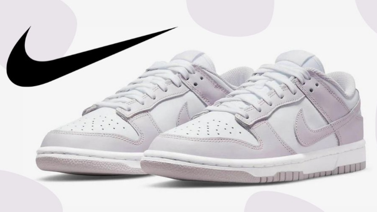 The Nike Dunk Low 'Light Violet' for the ladies
