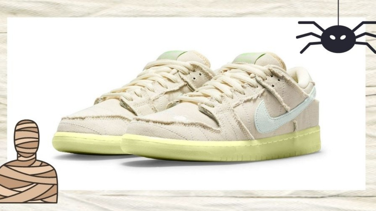 Celebrate Halloween with the Nike SB Dunk Low 'Mummy