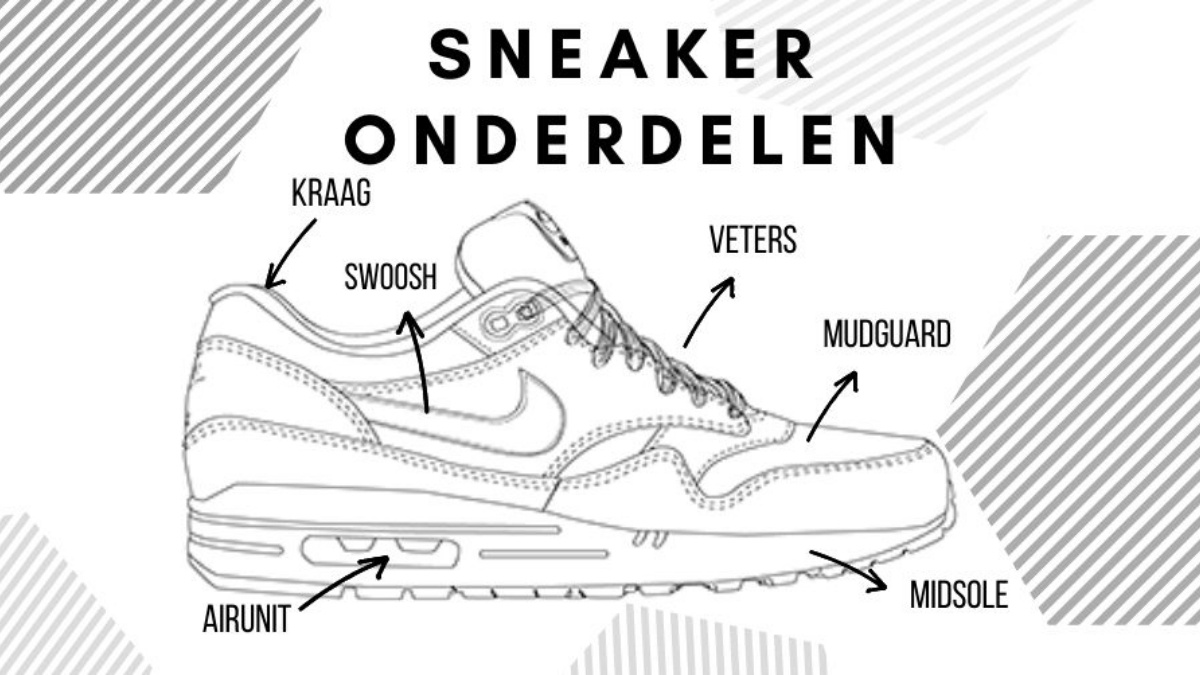 How is a sneaker put together?