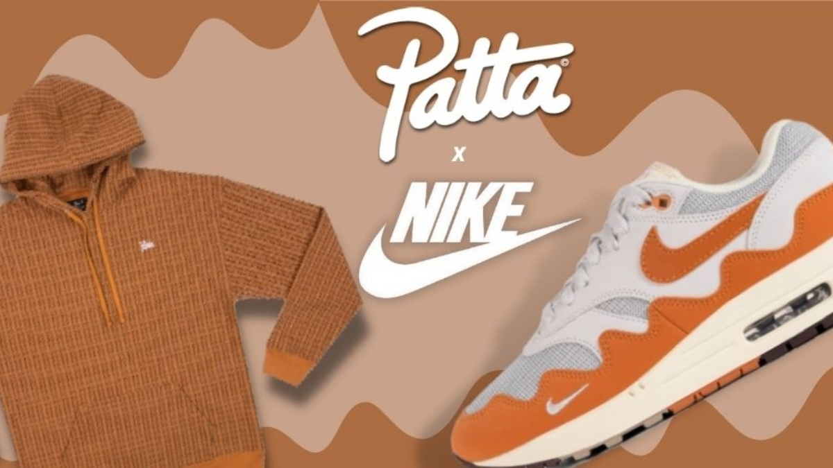 Patta x Nike 'The Wave' collection will be released soon