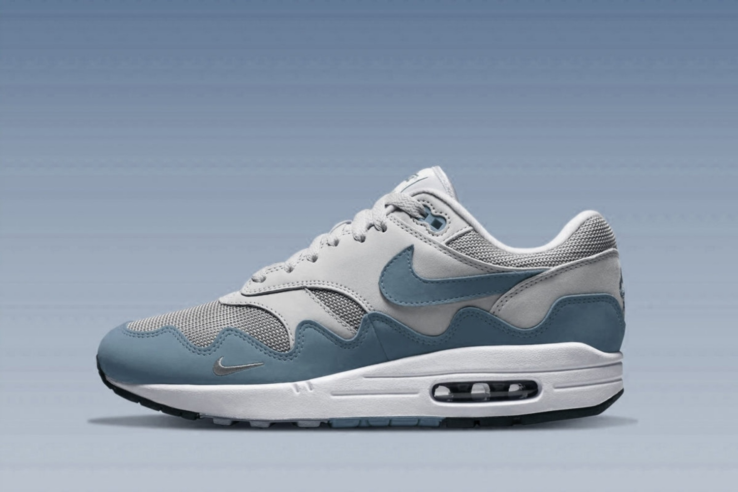 First images of the Patta x Nike Air Max 1 The Wave - Noise Aqua